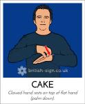 cake in BSL