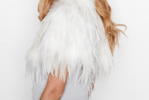 Lovely feather stole or wrap from Debenhams, in white